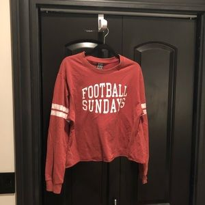 Football Sunday's Cropped Tee